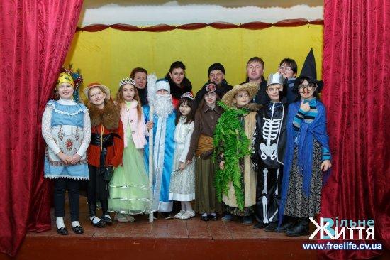 Новорічну казку створили юні театрали з Брусниці