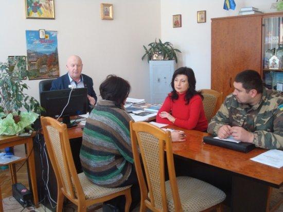 У Кіцманській РДА відбулась нарада щодо реалізації права учасників АТО на отримання земельних ділянок