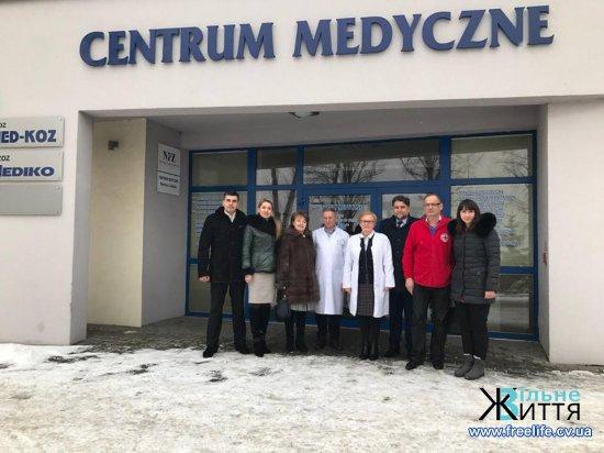 З досвідом Польщі у реформуванні медицини  ознайомилася делегація з Кіцманщини