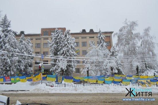 Акція «Велика українська хода» відбулася в Кіцмані