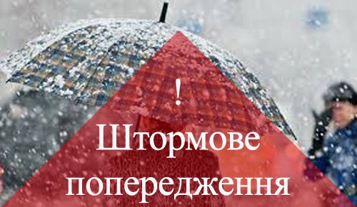 Мокрий сніг та вітер: на Буковині оголосили штормове попередження