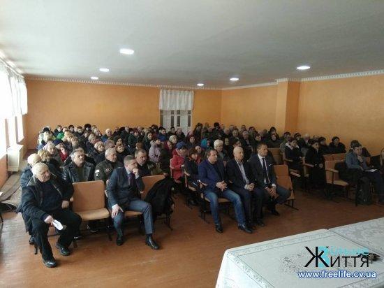 Шипинці прийняли пропозицію Кіцманя увійти до спільної ОТГ