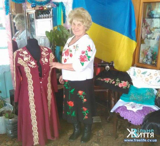 Жителька села Хлівище з весною у душі крокує крізь усе життя