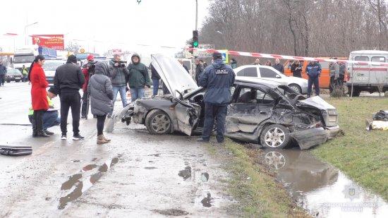 Четверо жінок загинуло в ДТП в Новому Киселеві