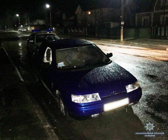 Кіцманські поліцейські швидко спіймали чоловіка, котрий угнав автівку