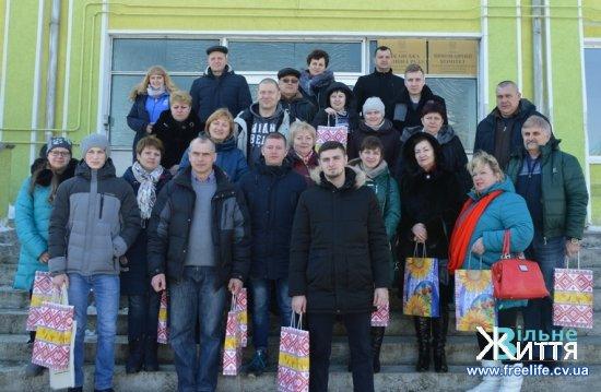 Делегація з Донецької і Луганської областей побували в Лужанах (фоторепортаж)