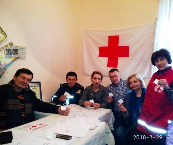 Всеукраїнський Місяць Червоного Хреста відзначають і на Кіцманщині