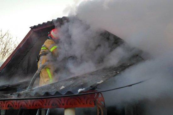 В Стрілецькому Куті ліквідовано пожежу у житловому будинку