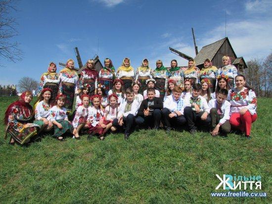 Кіцманщину гарно представили на обласному мистецькому святі «Христос Воскрес! Воскресне Україна!»