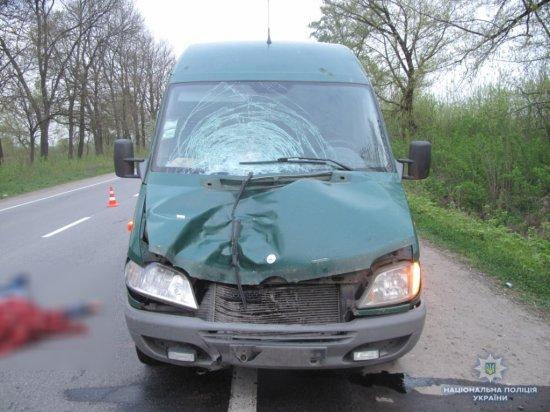 Під колесами мікроавтобуса загинув тернопільчанин