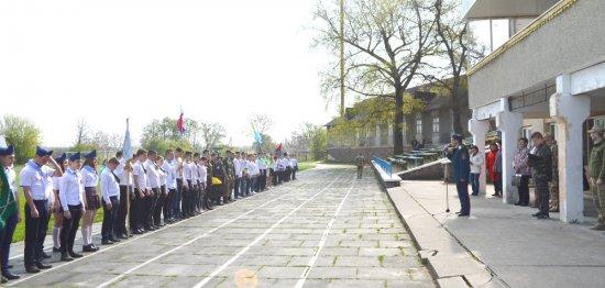 Відбувся І етап Всеукраїнської дитячо-юнацької військово-патріотичної гри «Сокіл» («Джура»)