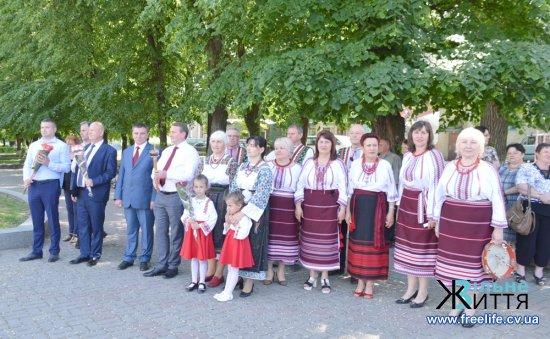 На Кіцманщині зустріли фестивальний вогонь «Фестин творчих родин»