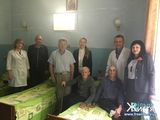 Ветеранам Кіцманщини — наша вдячність, увага і шана