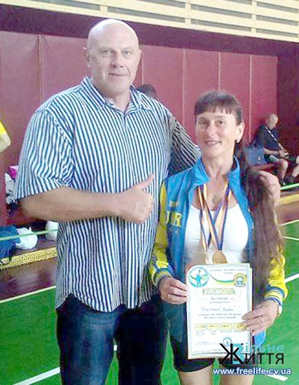 Перший чемпіонат України з гирьового спорту