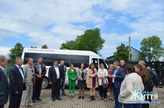 Для стратегічного розвитку Мамаївської ОТГ вивчали досвід Глибоцької громади