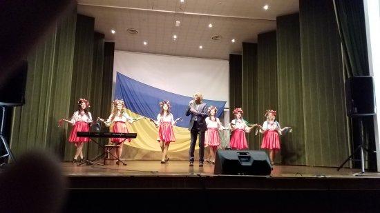 Про концерт Павла Дворського в Італії перед українською діаспорою