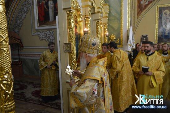 Патріарх Київський і всієї Руси-України Філарет побував на Кіцманщині (фото)