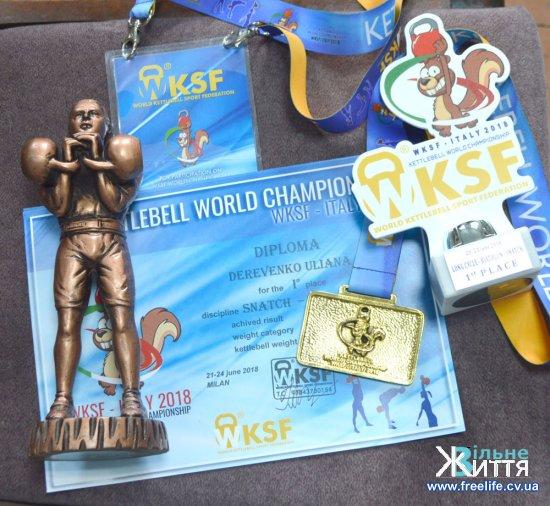 Дві золоті медалі додали до колекції нагород гирьовики з Кіцманщини