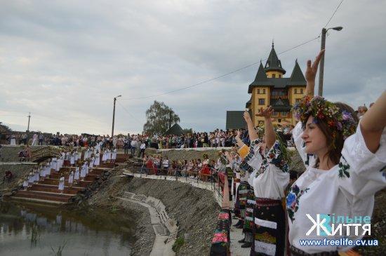 На Кіцманщині триває районне обрядове свято