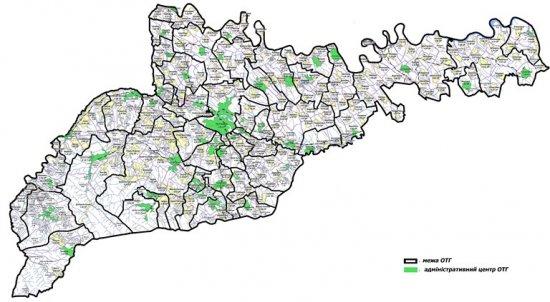 Затверджено перспективний план формування громад, на Кіцманщині заплановано 6 ОТГ
