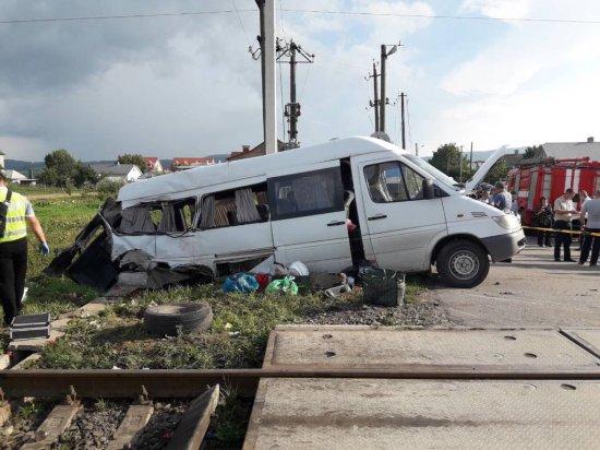 В Мамаївцях потяг зіткнувся з мікроавтобусом. Є загиблі. Офіційна версія поліції  (оновлено)