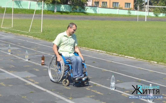 У Кіцмані відбулася 15-та спартакіада серед осіб з інвалідністю