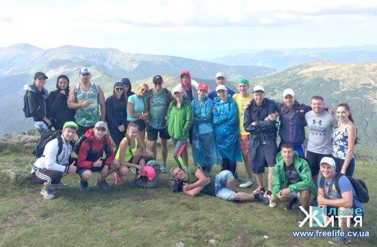 Спортивня молодь Буковини підкорила гірські вершини