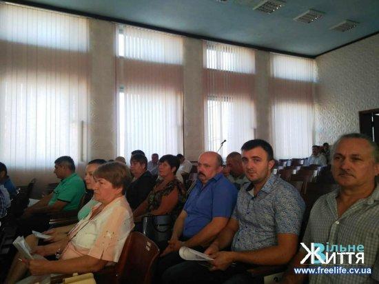 На сесії Кіцманської районної ради