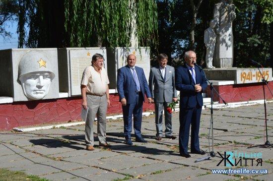 У Кіцмані урочисто відкрили пам'ятник ліквідаторам аварії на Чорнобильській АЕС