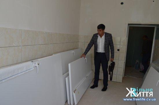 У Кіцманській ЦРЛ ремонтують приймальне відділення