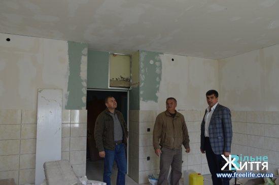 У Кіцманськый ЦРЛ ремонтують приймальне відділення
