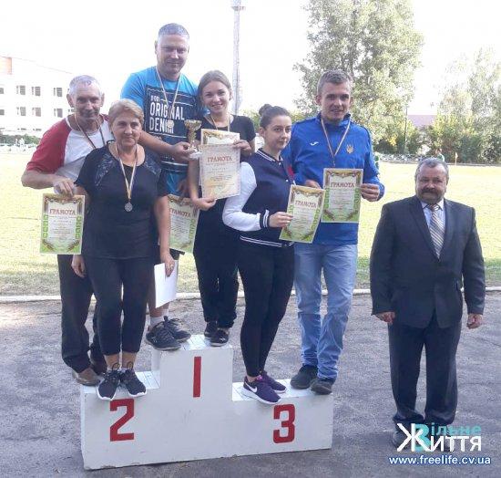 Кіцманчани – переможці обласних сільських спортивних ігор 2018 року