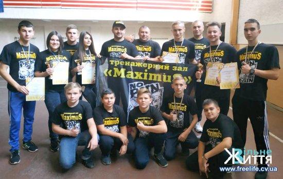 Важковаговики з Кіцманщини гідно виступили на кубку області