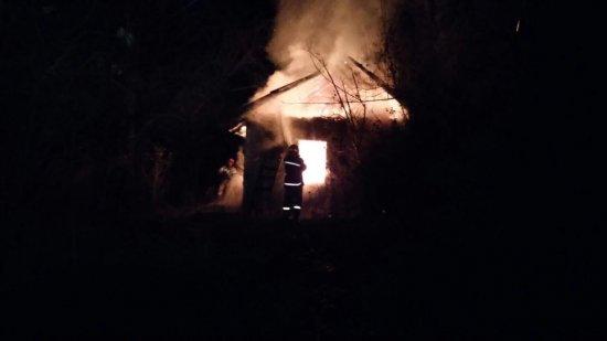 В Оршівцях згорів житловий будинок