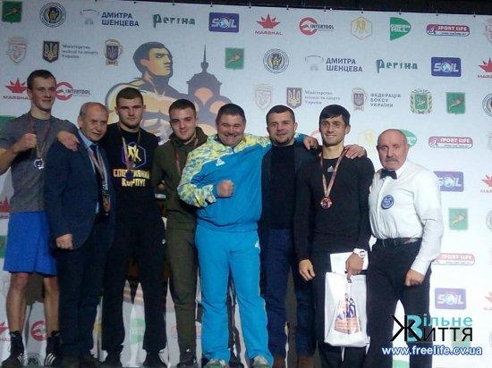 Степан Грекул – Чемпіон України з боксу!