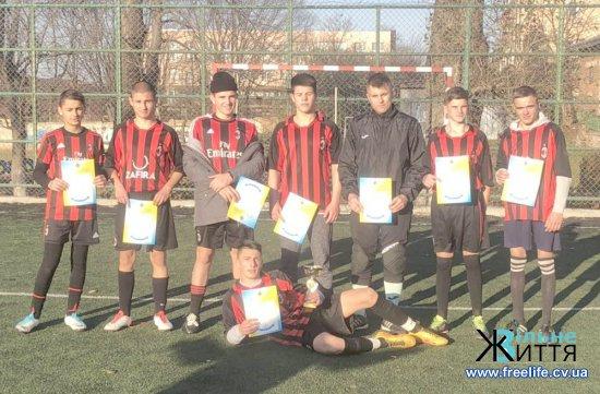 Мамаївські учні — переможці обласного турніру з футболу