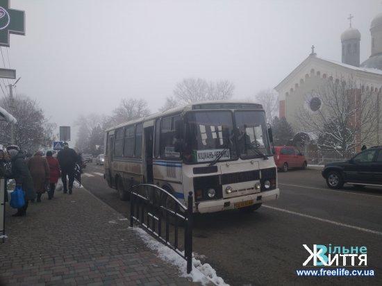 Проїзд в маршрутках Кіцманського АТП дорожчає з 26 листопада