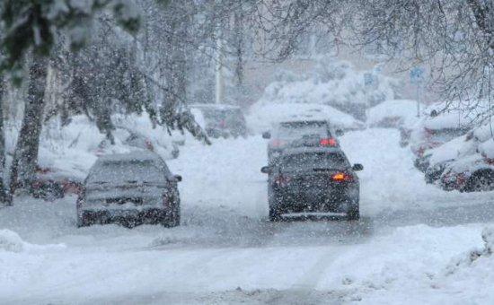 Штормове попередження: 26-27 листопада очікується сніг та ожеледиця