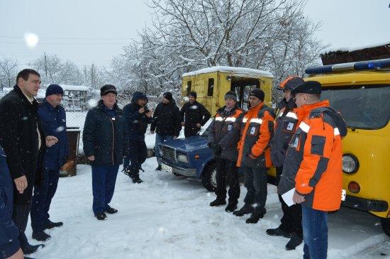 На Кіцманщині проводяться командно-штабні навчання
