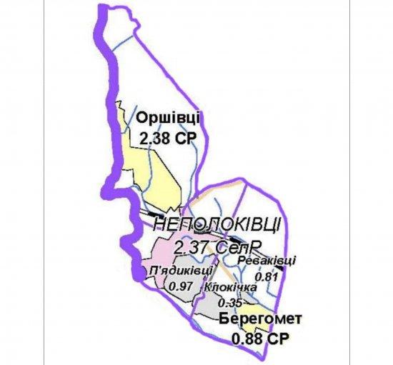 На посаду голови Неполоковецької ОТГ зареєструвалося чотири кандидати