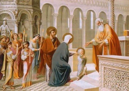 4 грудня - Введення в храм Пресвятої Богородиці, або