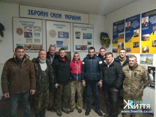 Кіцманський військомат дякує резервістам за участь у навчальних зборах