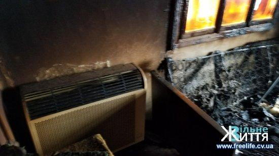 У селі Брусниця під час пожежі загинув чоловік