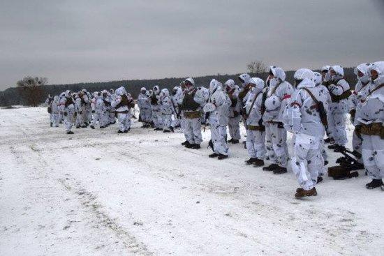 Резервісти Кіцманщини взяли участь у військових навчальних зборах