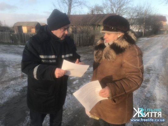 Рятувальники нагадали жителям Дубівців правила протипожежної безпеки