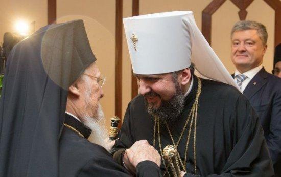 Ім'я ваше навіки ввійде в історію українського народу і церкви — Епіфаній подякував Петру Порошенку