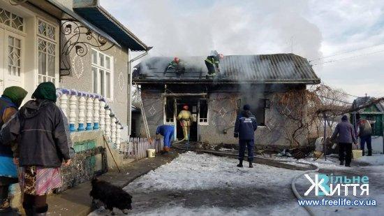 У Киселеві горіла літня кухня
