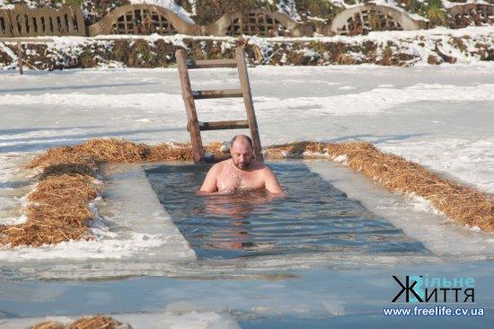 Йорданські купання в Буковинській Трої (фоторепортаж)