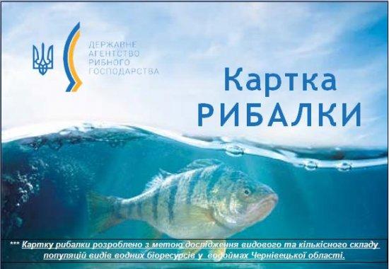 Чернівецький рибоохоронний патруль закликає оформлювати «Картку рибалки»