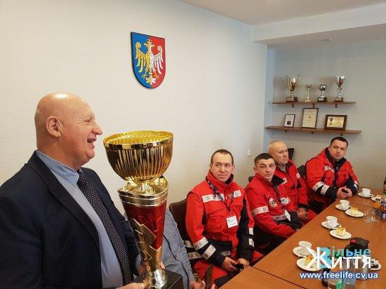Кіцманські медики взяли участь у зимових медичних раллі в Польщі